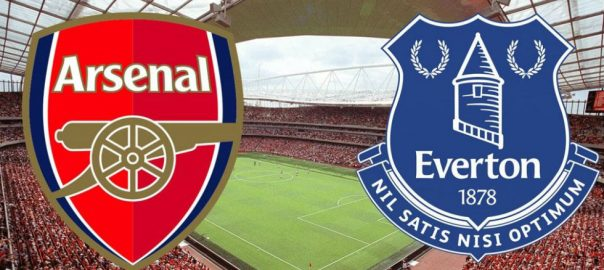 livescore hasil arsenal vs everton